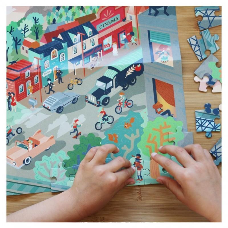Wild west puzzle game