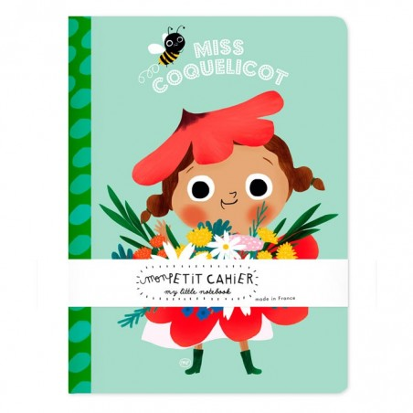 Cahiers miss coquelicot