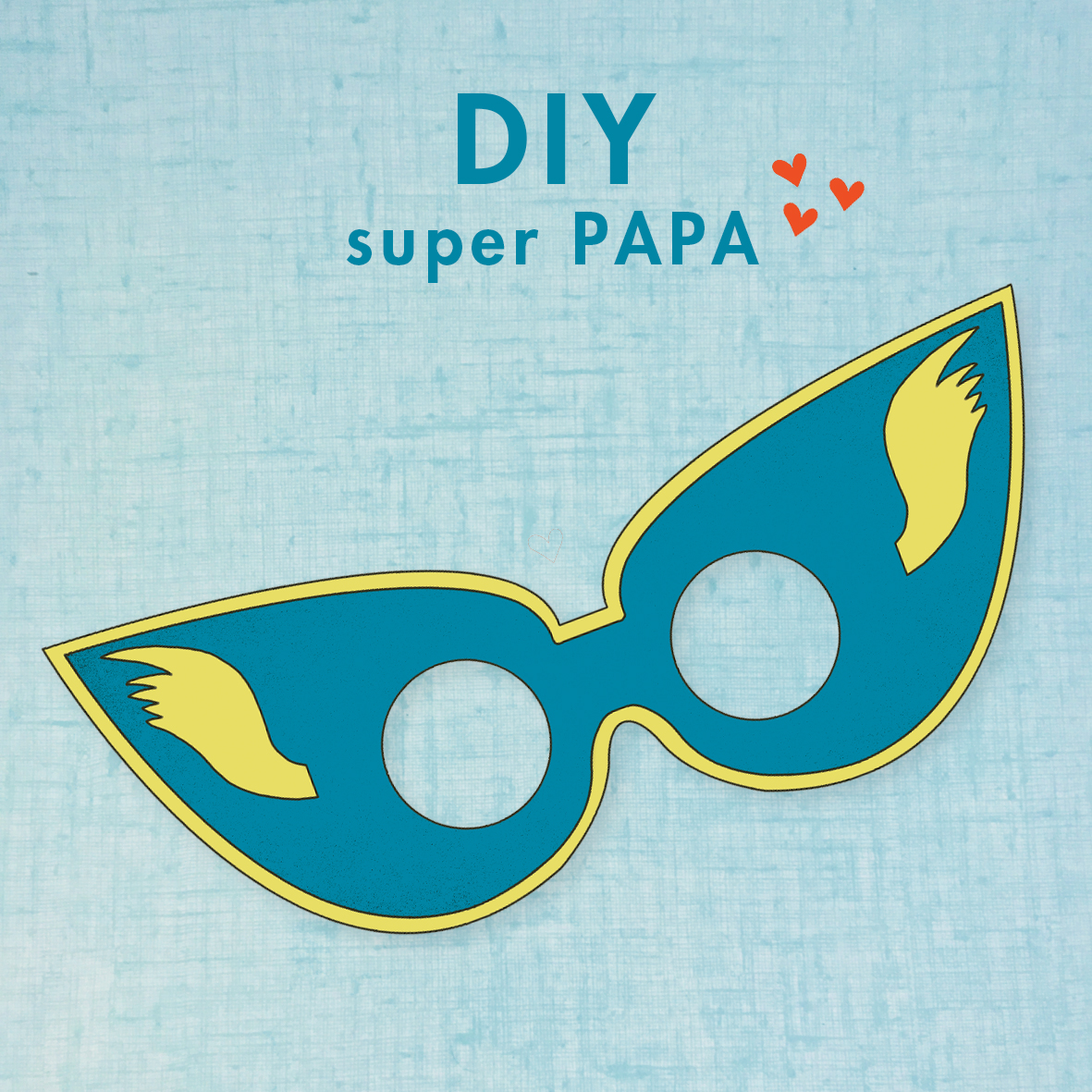 Masque super papa