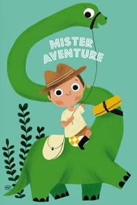 Mister Adventure Postcard